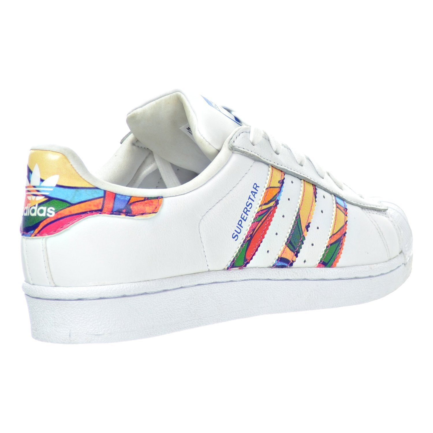 adidas superstar multicolore